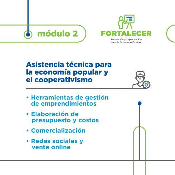 Programa de formación y capacitación de la Economía Popular – Cursos y talleres virtuales.