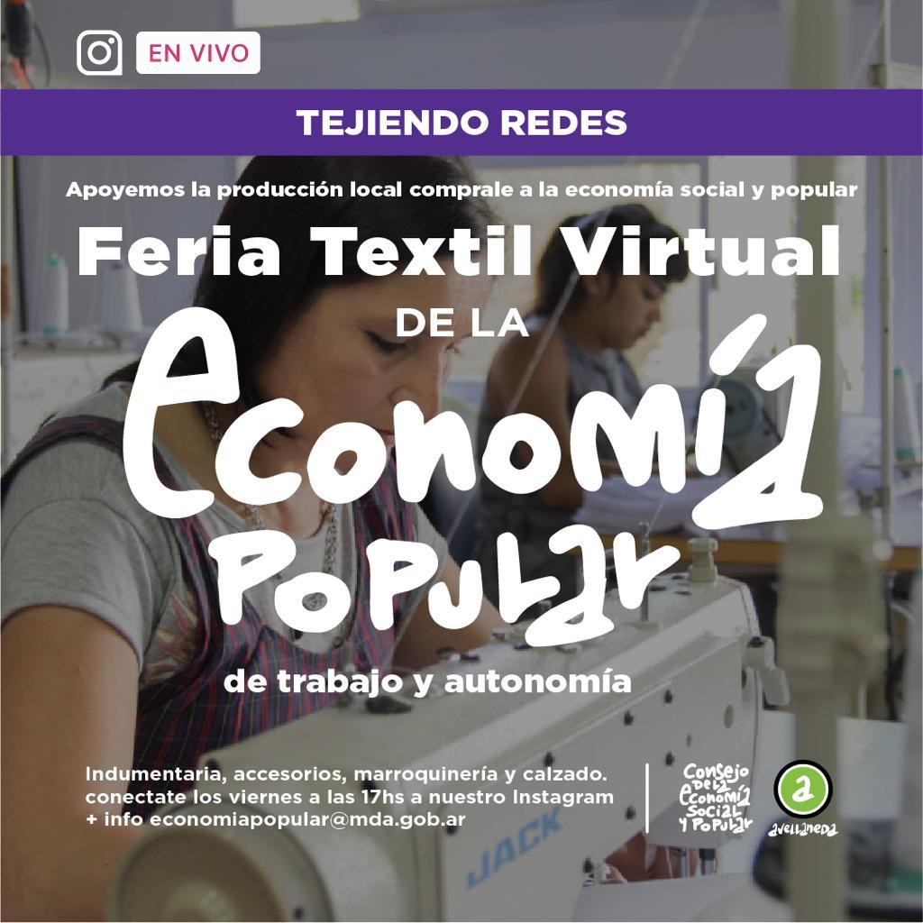 "Feria Textil Virtual ""Tejiendo Redes"""