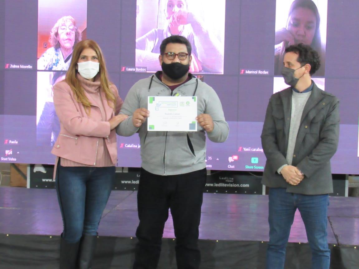 🎓ENTREGA DE CERTIFICADOS FORTALECER 2021