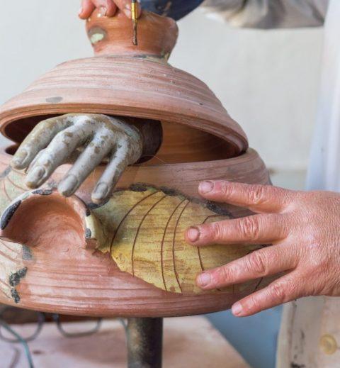 Taller Albarro- Tienda enseñanza de cerámica.