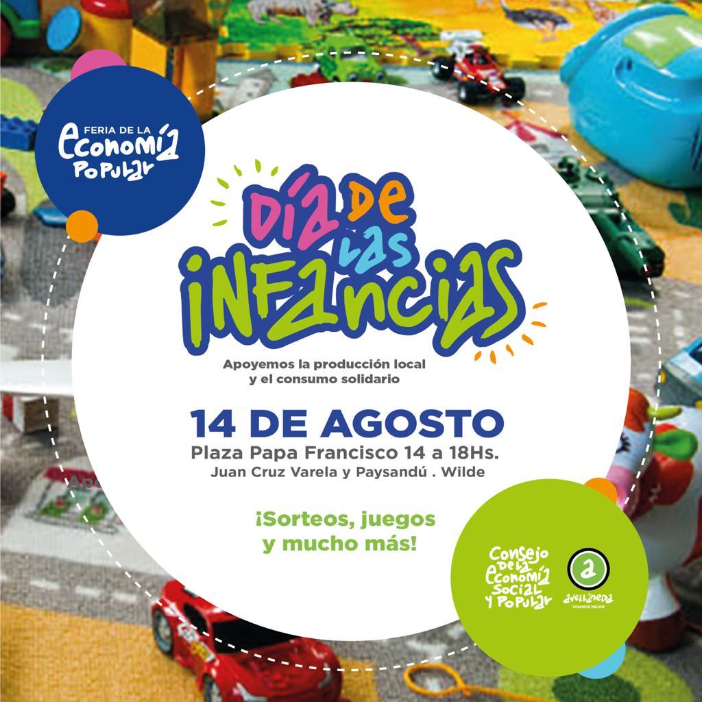 FERIA DE LA ECONOMIA POPULAR🛍️ ¡Edición día del niño!